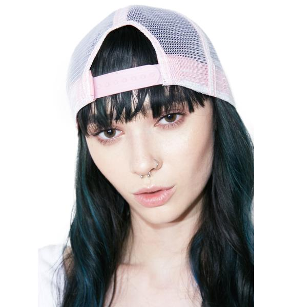 Von Dutch Pink Sparkle Hat