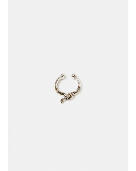 Tip The Scales Snake Nose Ring