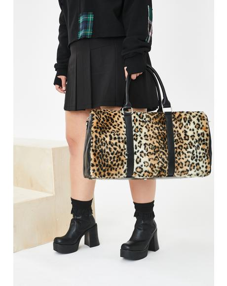 Kitty Got Away Weekender Bag