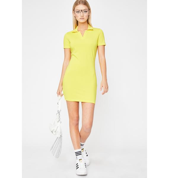 Sunny Not Regular Polo Dress