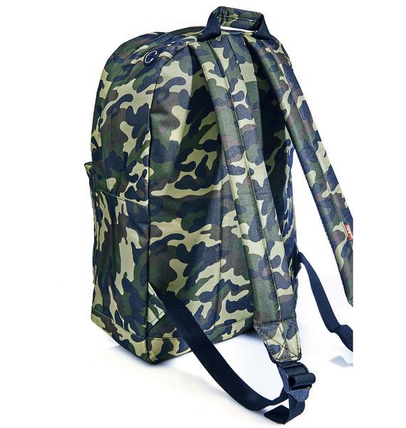 Spiral UK Camo Jungle Backpack