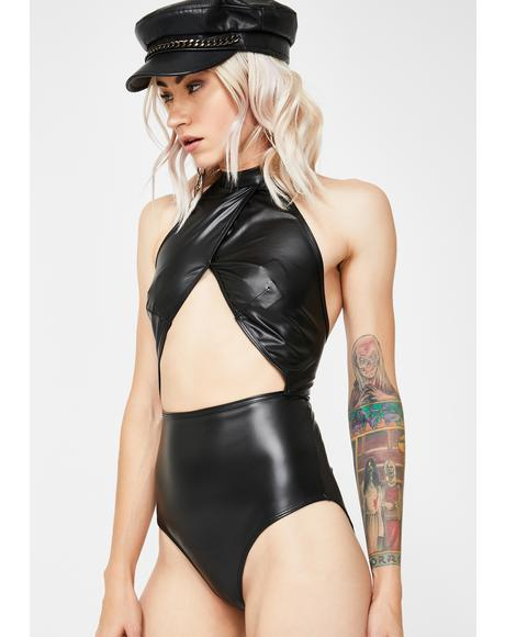 Adult Wasteland Cut-Out Bodysuit
