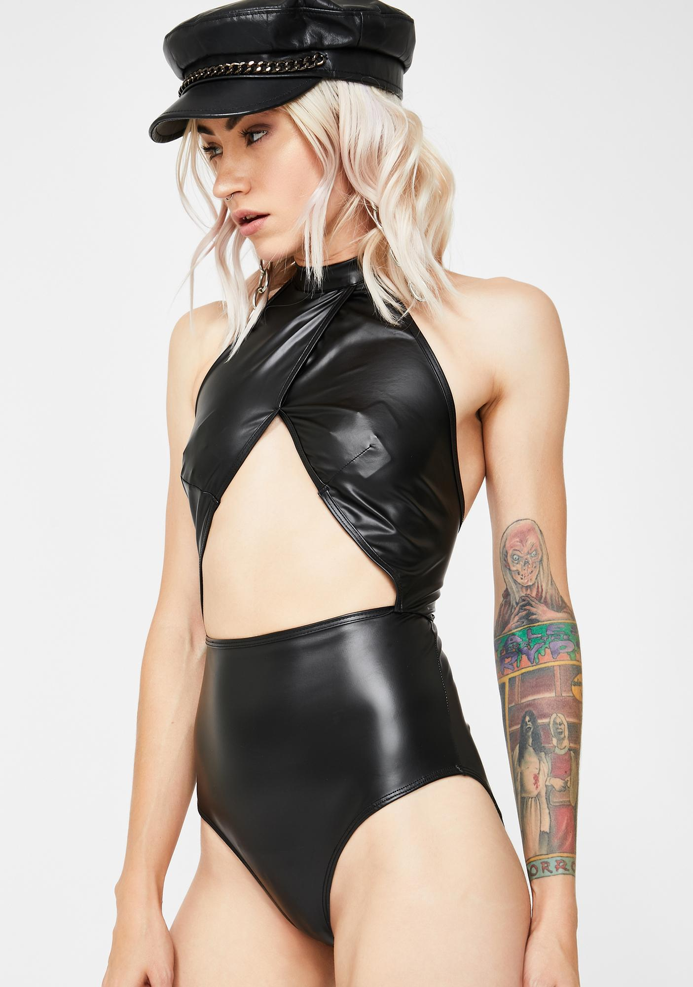Forplay Adult Wasteland Cut-Out Bodysuit