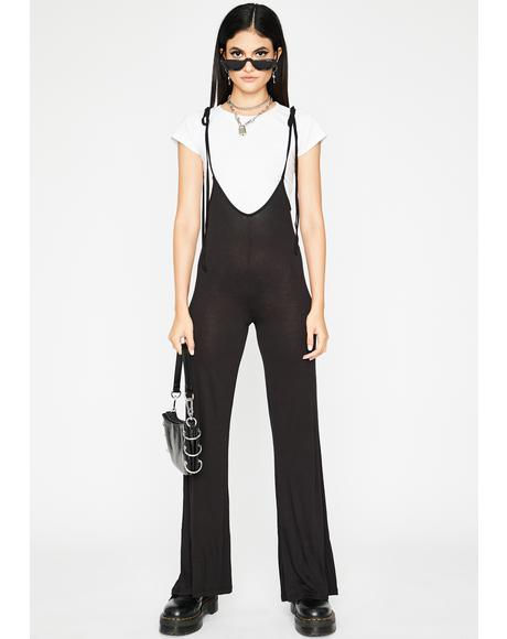 Chic Mood Plunge Jumpsuit
