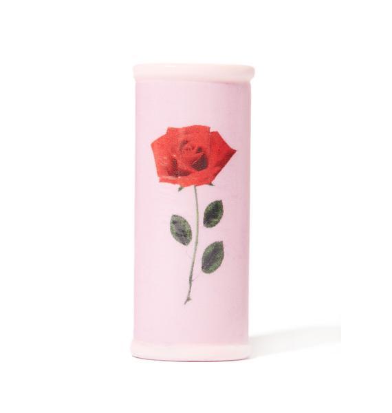 My Bubblegum Fantasy Single Rose Lighter Case
