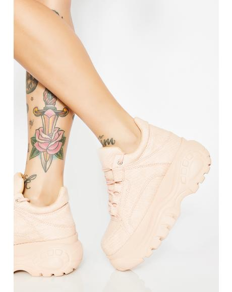 Blush In Vogue Chunky Sneakers