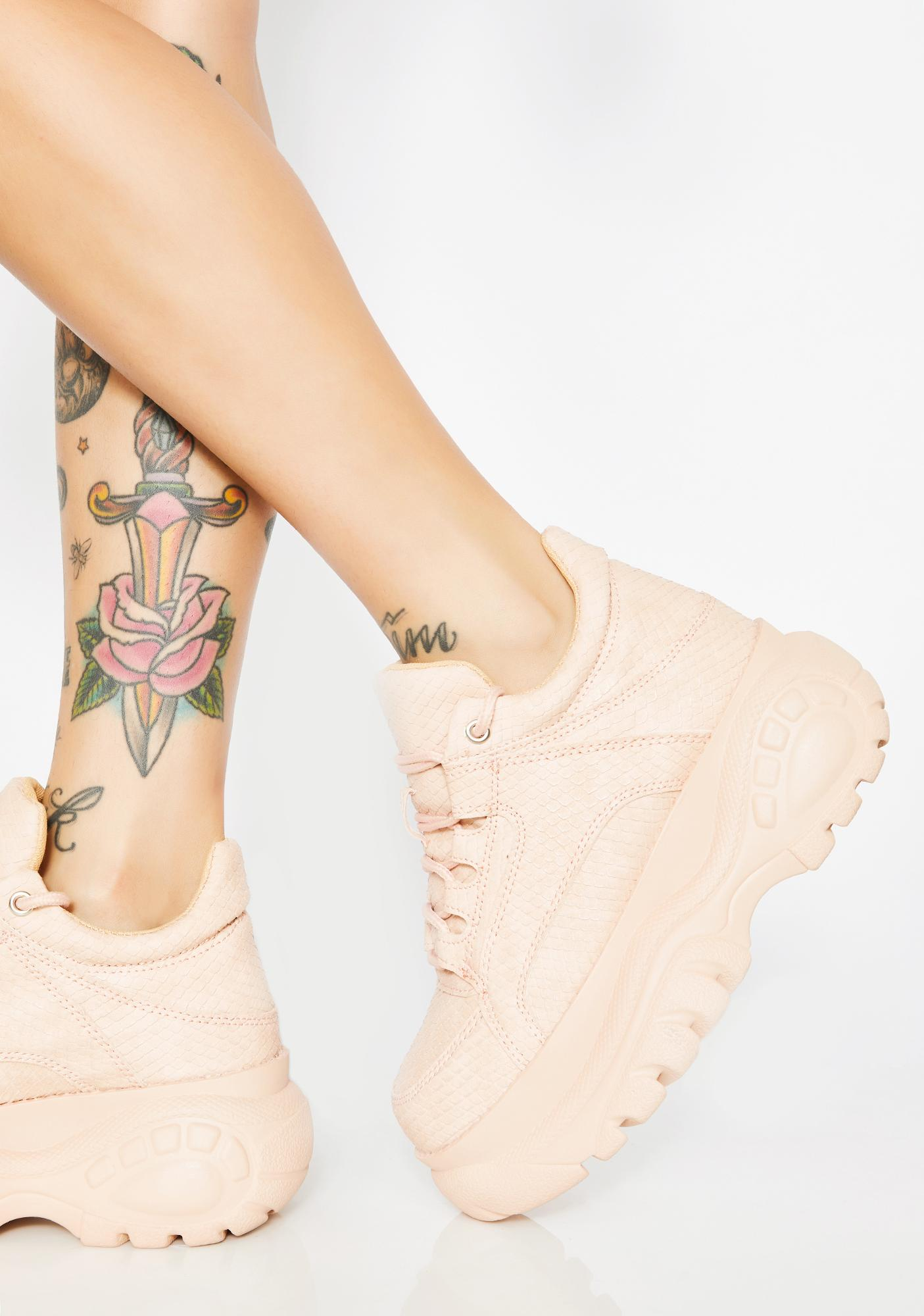 Blush In Vogue Chunky Sneakers by Cape Robbin