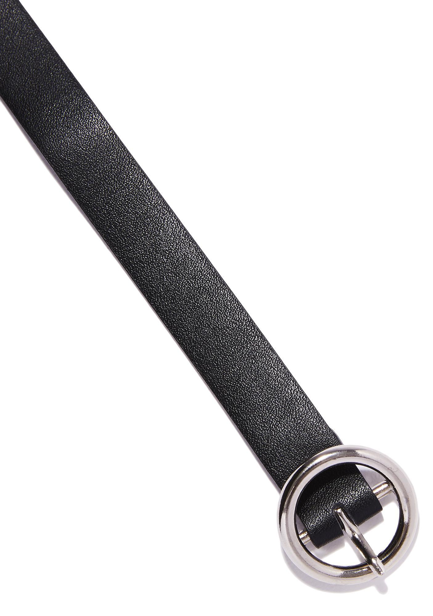 Circle Belt Choker