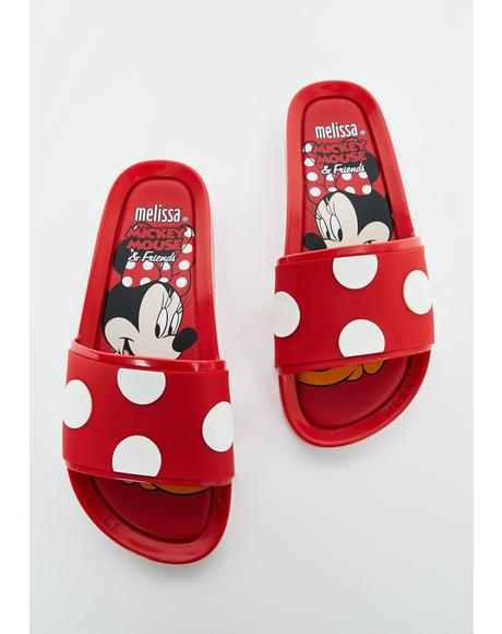 Minnie Mouse N' Friends Slide Sandals