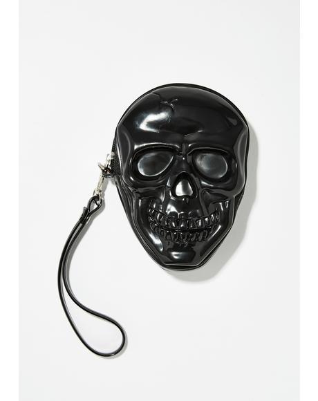Skull Cracker Wristlet