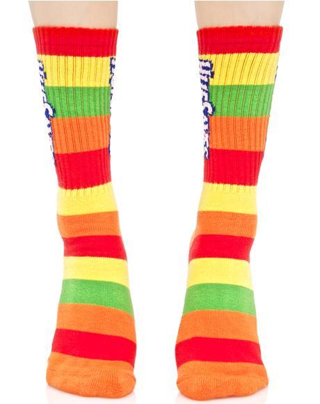 HUF Saves Crew Socks