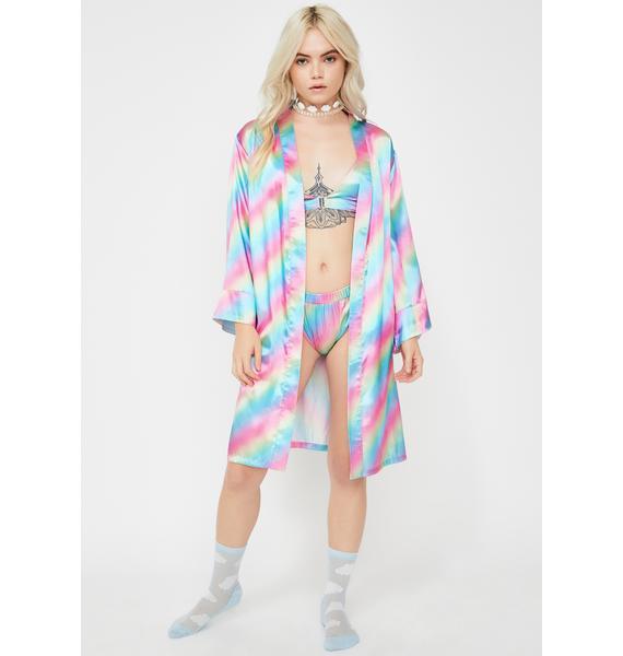 Sweet Dreams Satin Robe