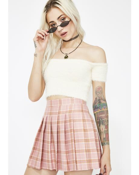 Just Like Candy Pleated Skirt