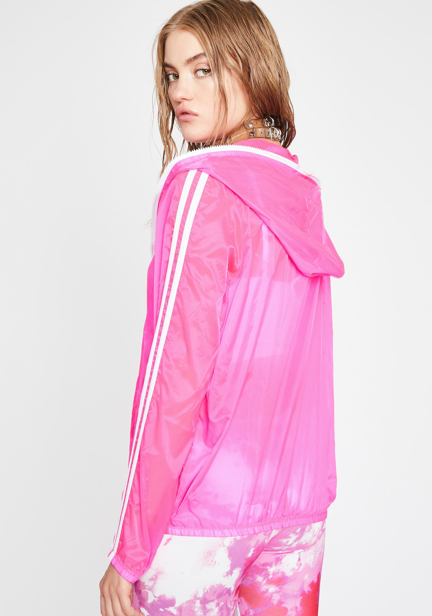 Streets Are Talking Neon Windbreaker