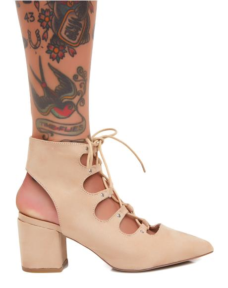 Natural Veruca Salt Heels