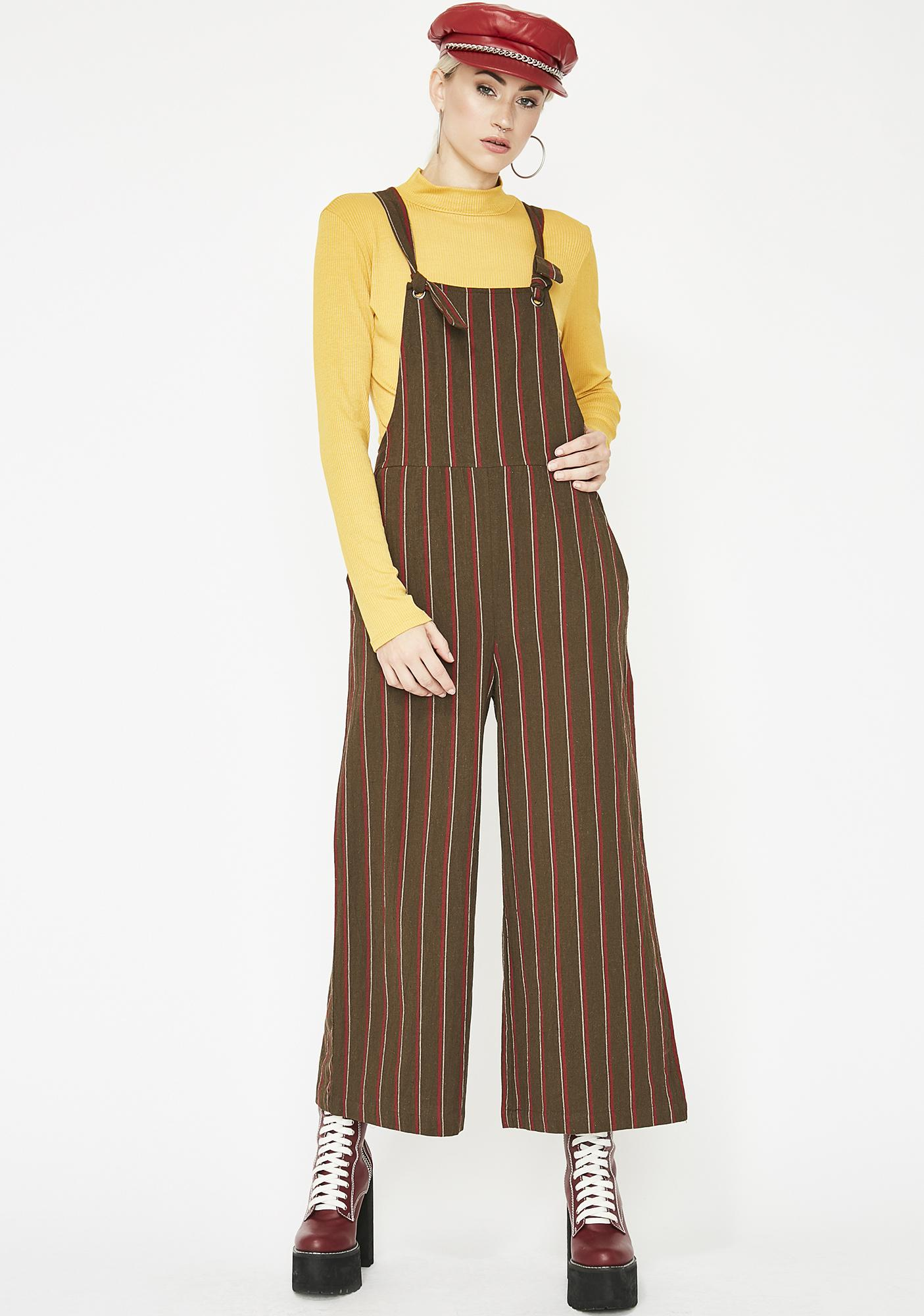 Good Intentions Striped Jumpsuit