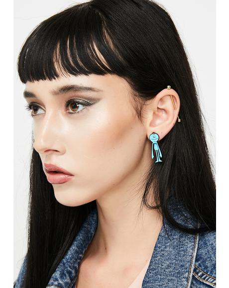 Alien Existence Stud Earrings