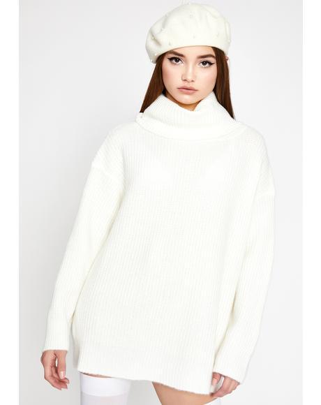 Warm Welcome Turtleneck Sweater
