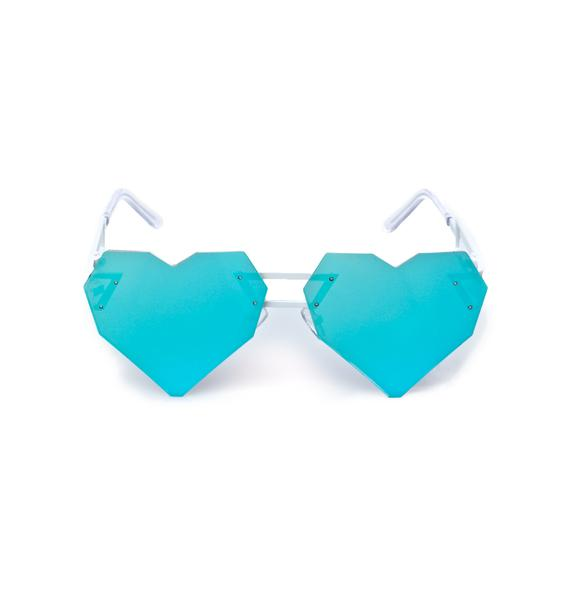 ESQAPE Heart Speqz Sunglasses