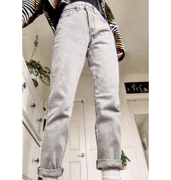 Levis Stone Broke 501 Skinny Jeans