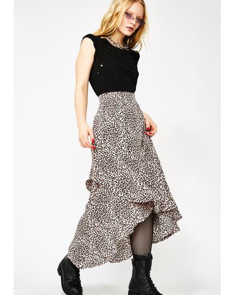 Sweet Untamed Tendencies Maxi Skirt
