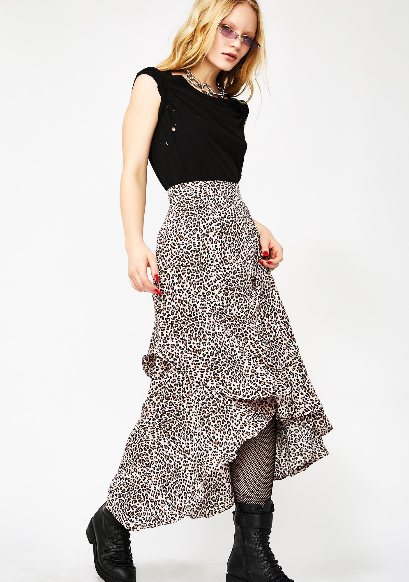 Sweet Untamed Tendencies Maxi Skirt