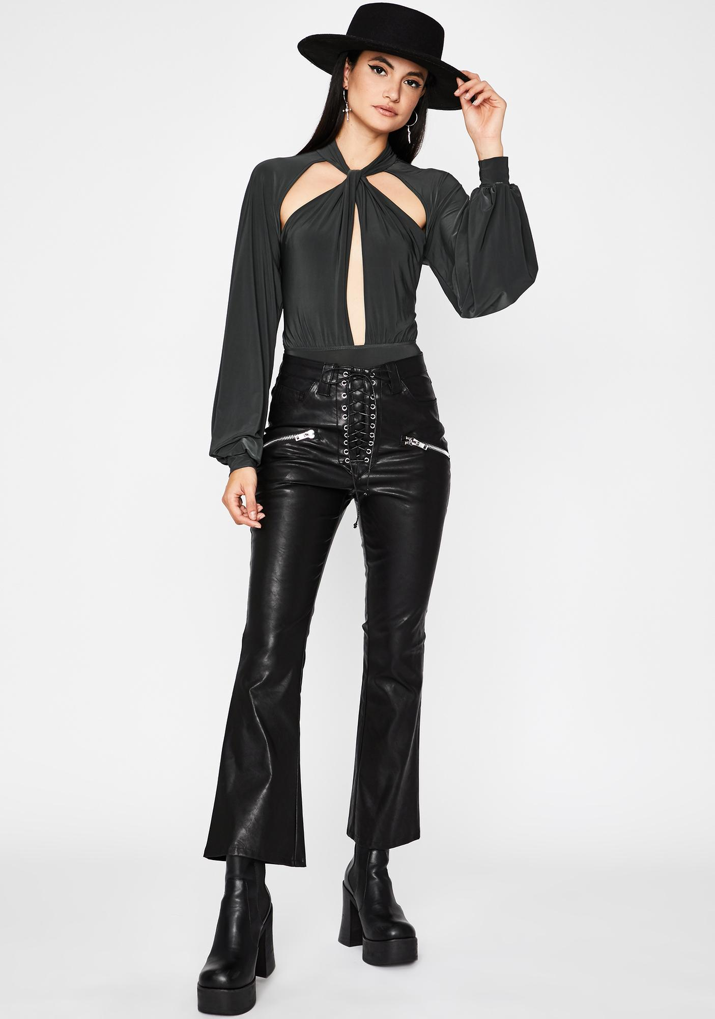 It Comes Naturally Cut-Out Bodysuit