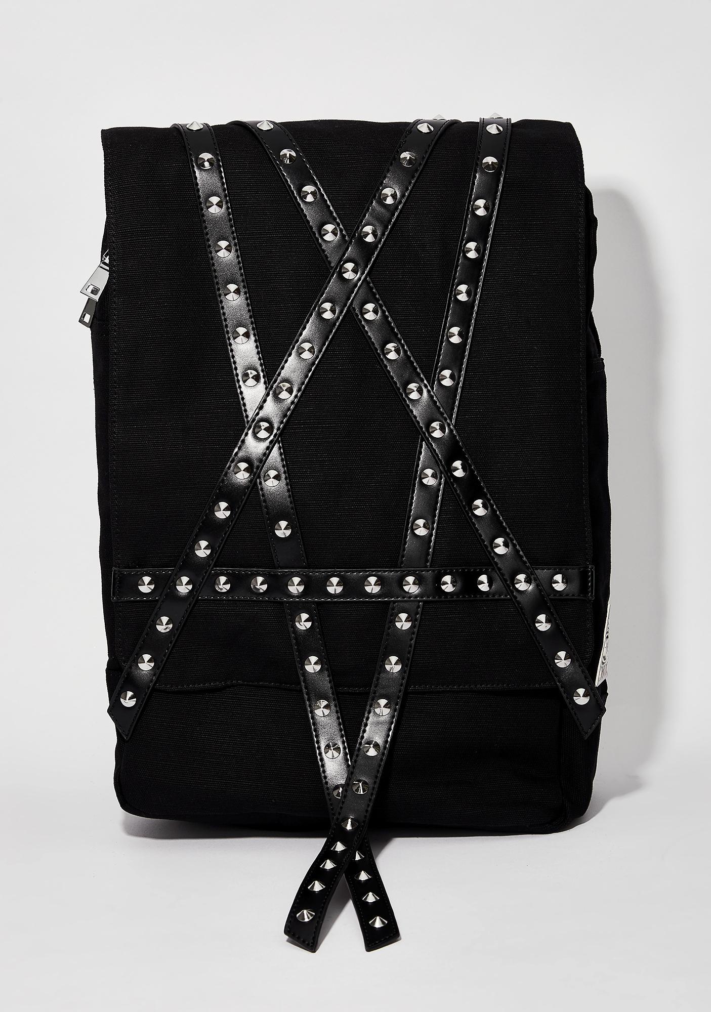 Disturbia Pentagram Backpack
