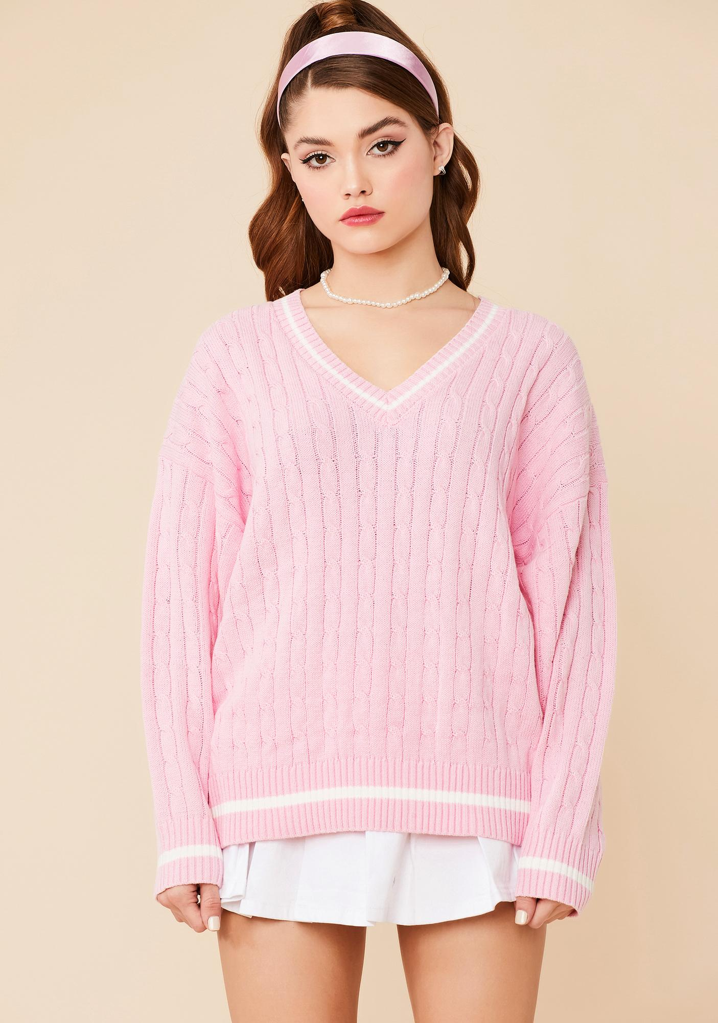 Catch Me On Campus Knit Sweater