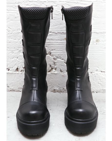 Dirte Biker Boots