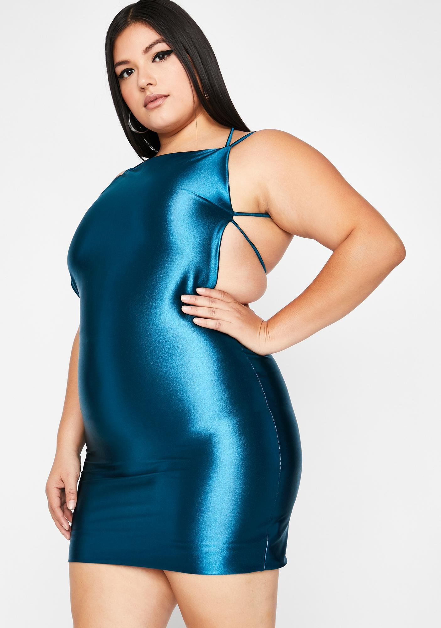 Cash Viral Status Satin Dress
