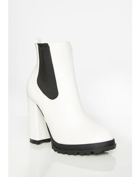 Walk This Way Ankle Boots