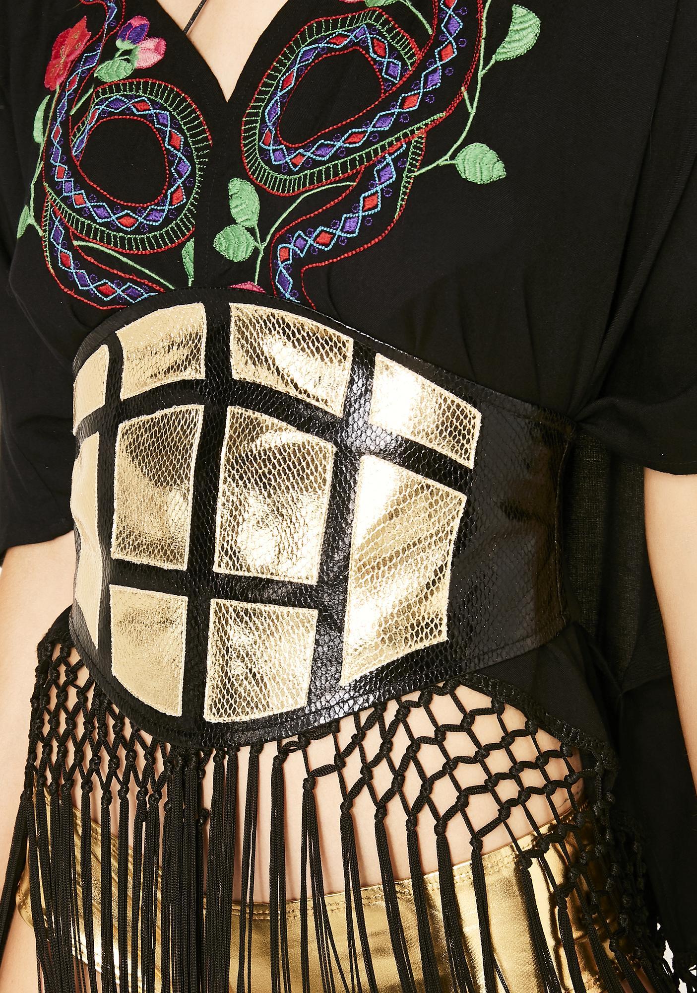 Club Exx Helios Armour Corset Belt