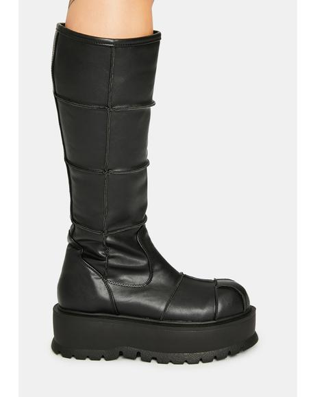 Cerberus Knee High Boots