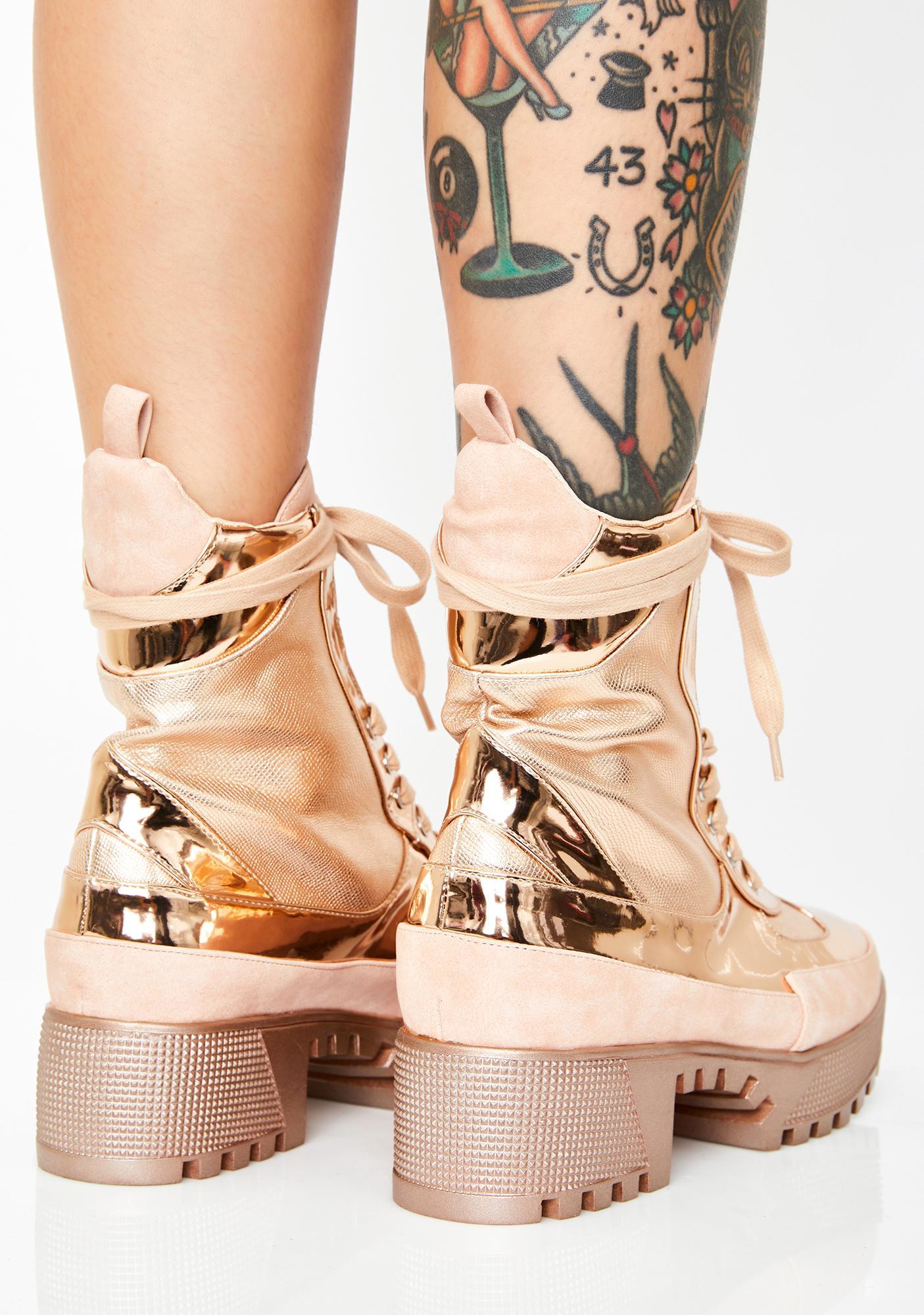 Armed N' Dangerous Combat Boots