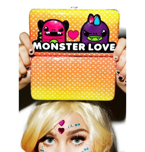 Iron Fist Monster Love Hinge Wallet