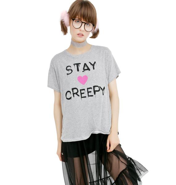 Wildfox Couture Stay Creepy Manchester Tee