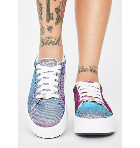 dELiA*s by Dolls Kill Dragonfly Wingz Platform Sneakers