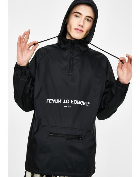 X Smiley Smile Now Cry Later Anorak Jacket