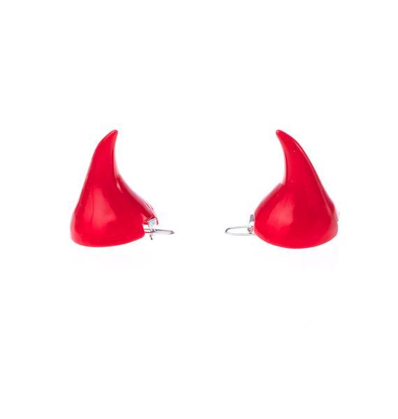 Kreepsville 666 Horror Red Hair Horns