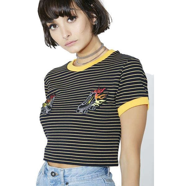 The Ragged Priest Roller Ringer Tee