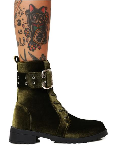 Savaged Combat Boots
