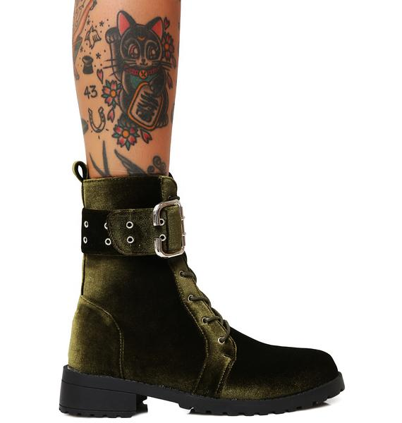 Privileged Savaged Combat Boots