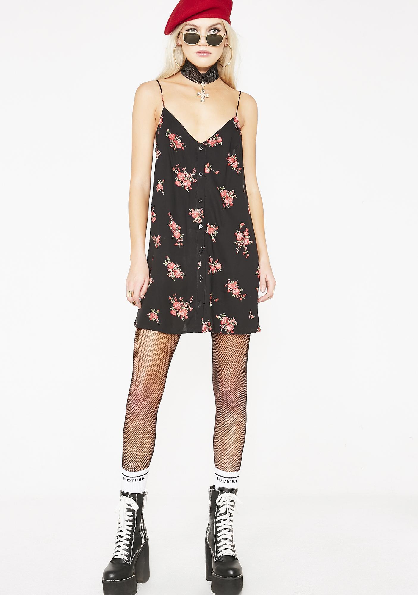 001ff4ccacae6 Motel Floral Sanna Slip Dress | Dolls Kill