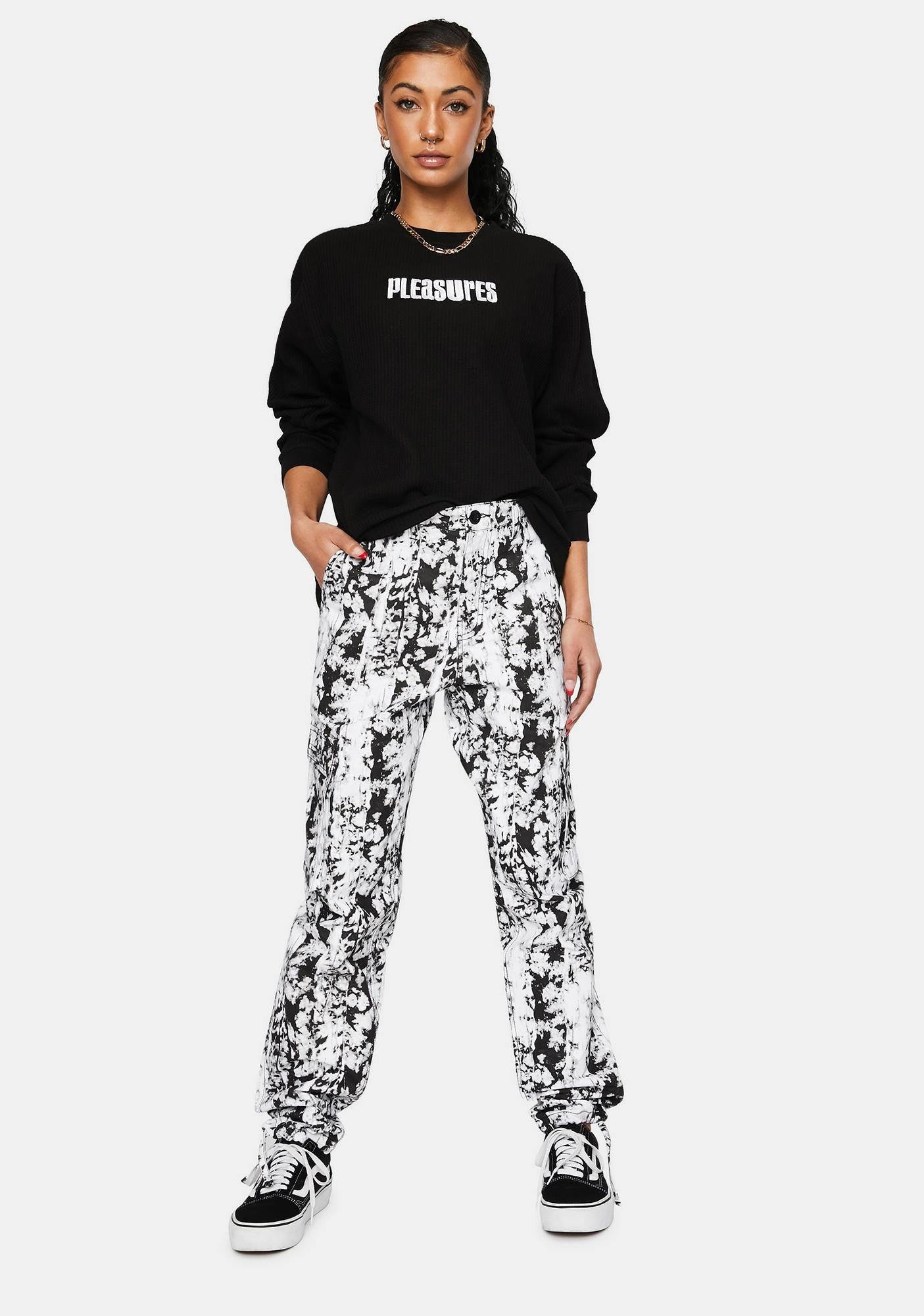 Pleasures Moma Tie Dye Cargo Pants