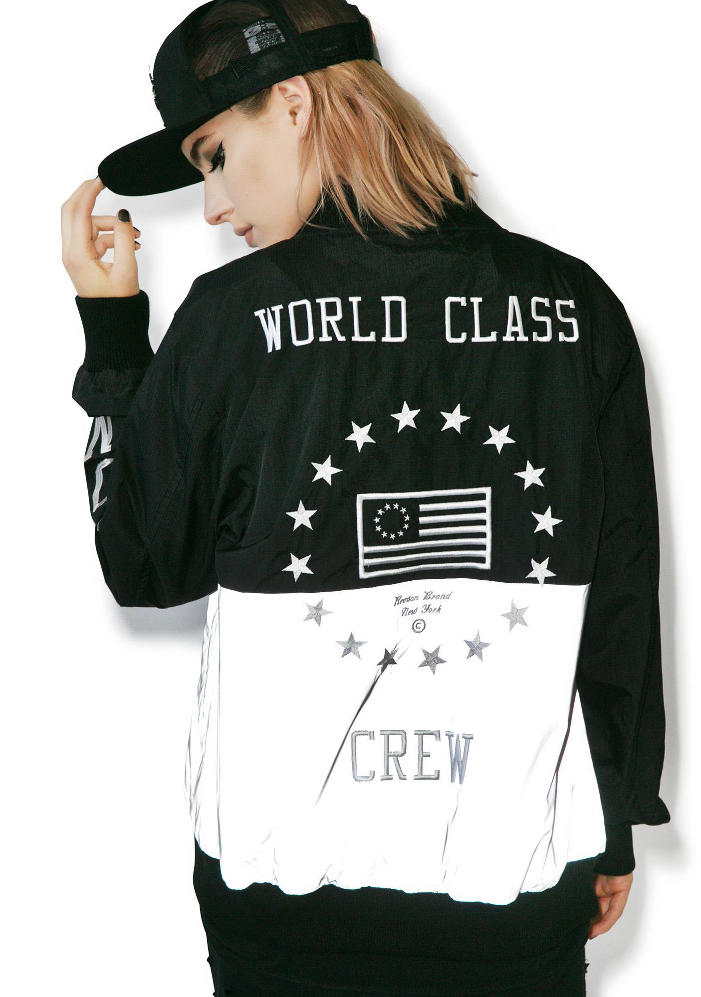 Reason World Class Ripstop Varsity Jacket