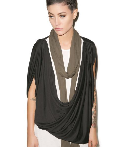 MNML Empire Cowl Neck Tank