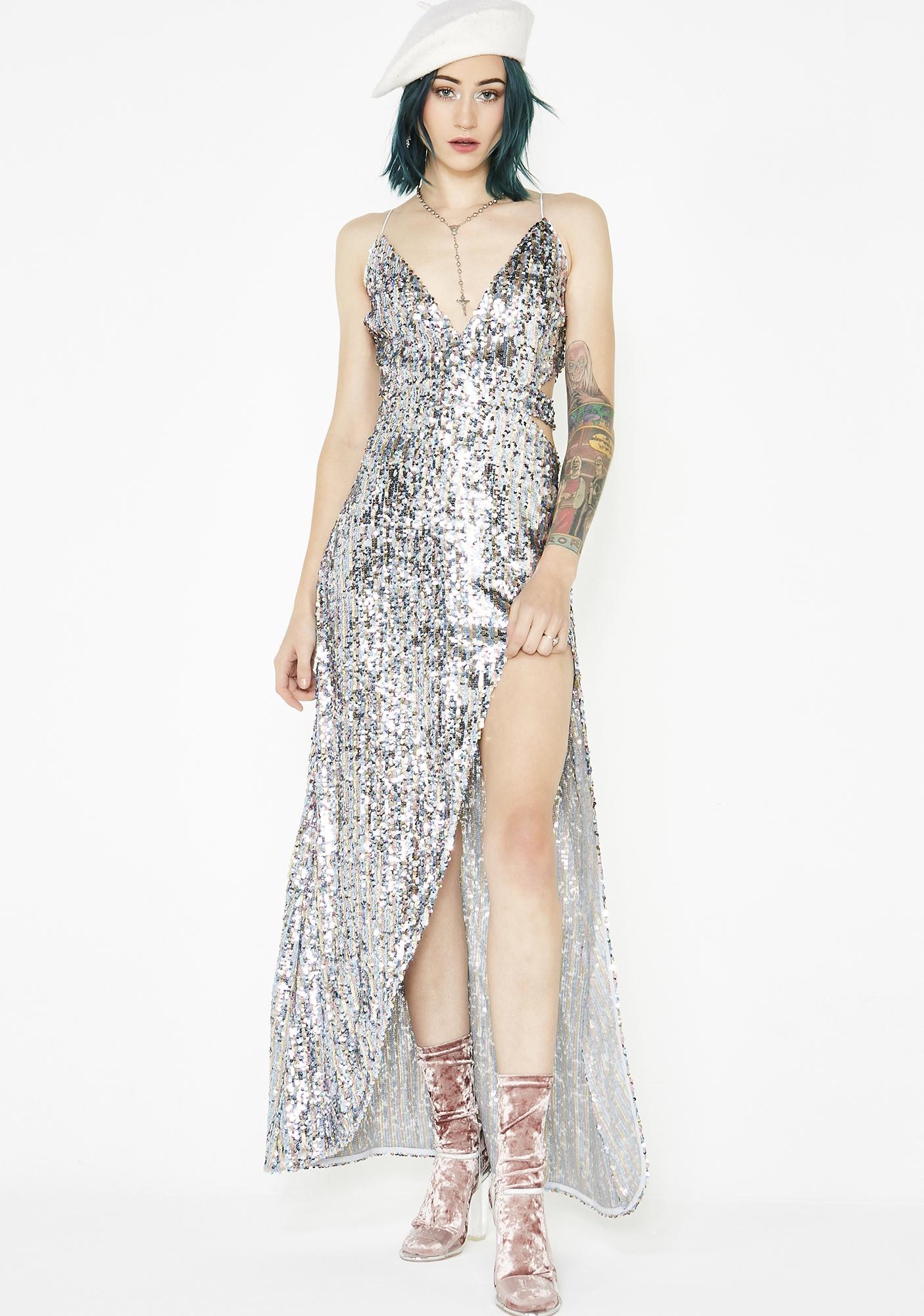 58ac9016cd6a For Love & Lemons Showtime Maxi Dress | Dolls Kill