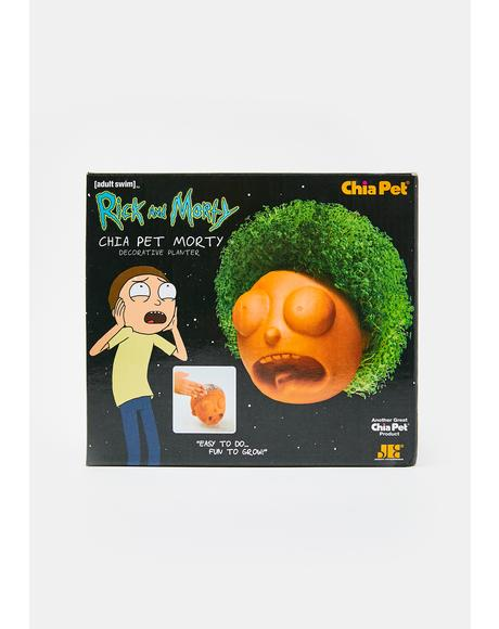 Chia Pet Morty Decorative Planter