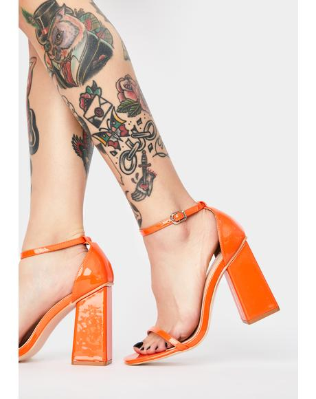 Anna Patent Heels